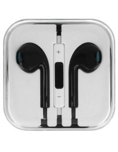 Auriculares manos libres compatible EarPods iPhone5 - negro