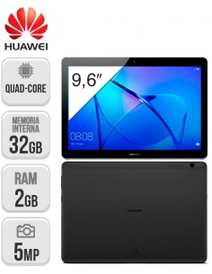 Huawei : Tablet T3 9,6 2/32GB Wifi Negro